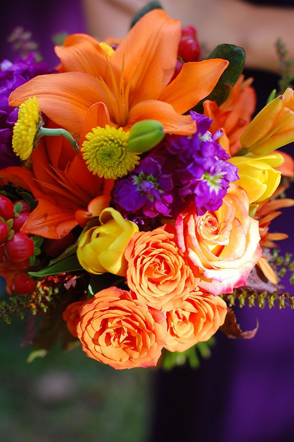 17 best images about wedding ideas on pinterest for Simple fall bridesmaid bouquets
