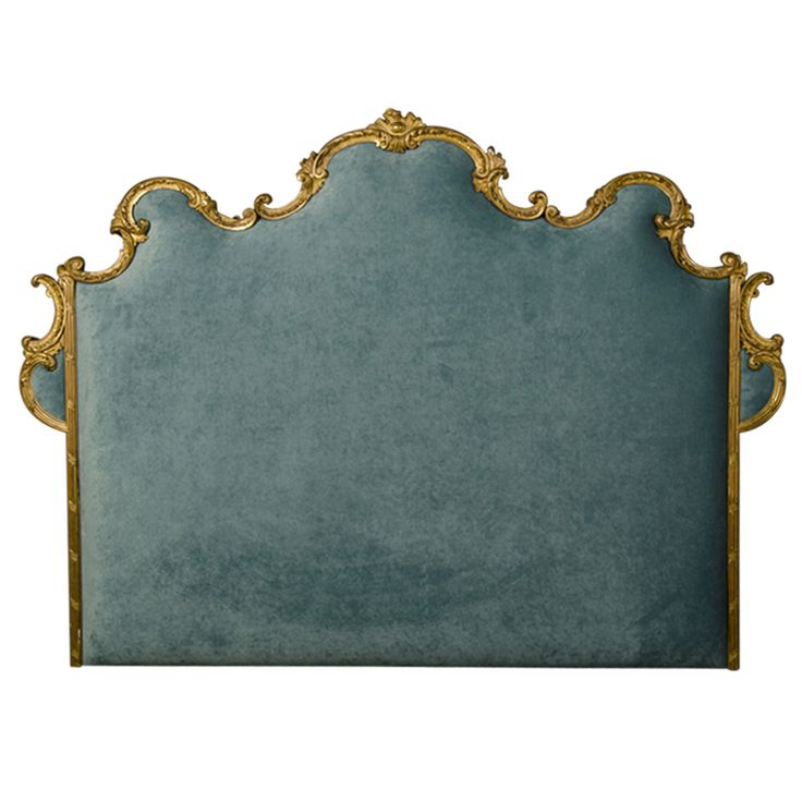 1stdibs | Gorgeous Louis XV Style Gilded Frame as a Headboard from France ca.1895