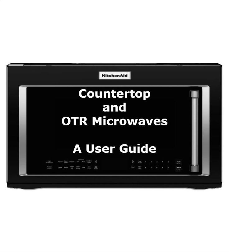 Can Countertop Microwave Be Used Over The Range : cooking in a microwave, whether it be a countertop or over the range ...