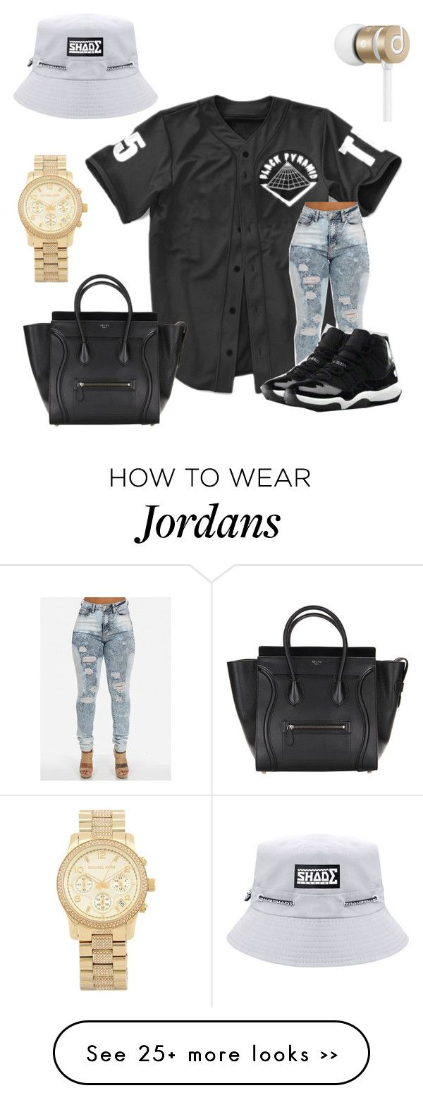 """""""Untitled #137"""" by queen-libra on Polyvore featuring NIKE, Michael Kors and Beats by Dr. Dre"""