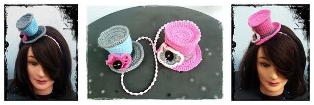 crochet punk hats