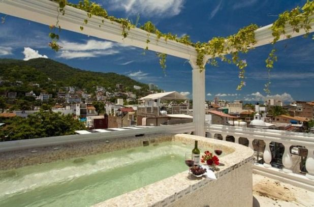 Enjoy this view in Puerto Vallarta, Mexico #vacationhomerentals