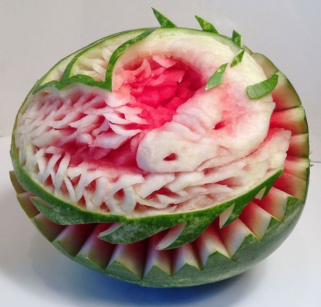 Best watermelon carving images on pinterest food
