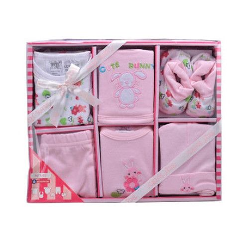 Newborn Set Pack 6 Piece Pink- all essentials in one place