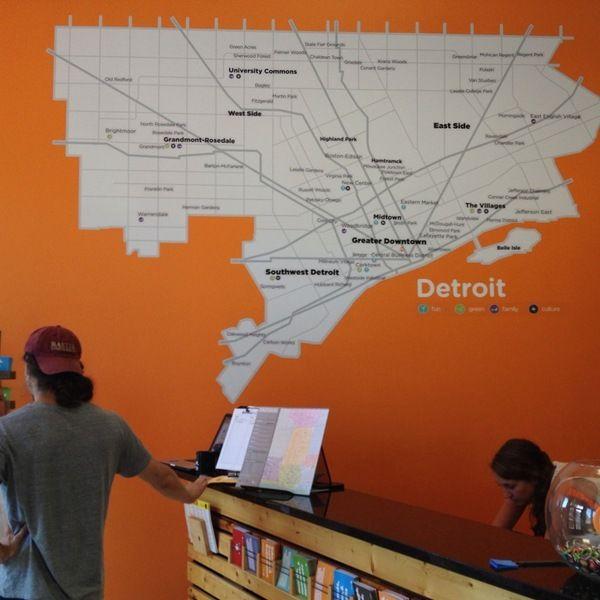 Visiting Detroit, Michigan