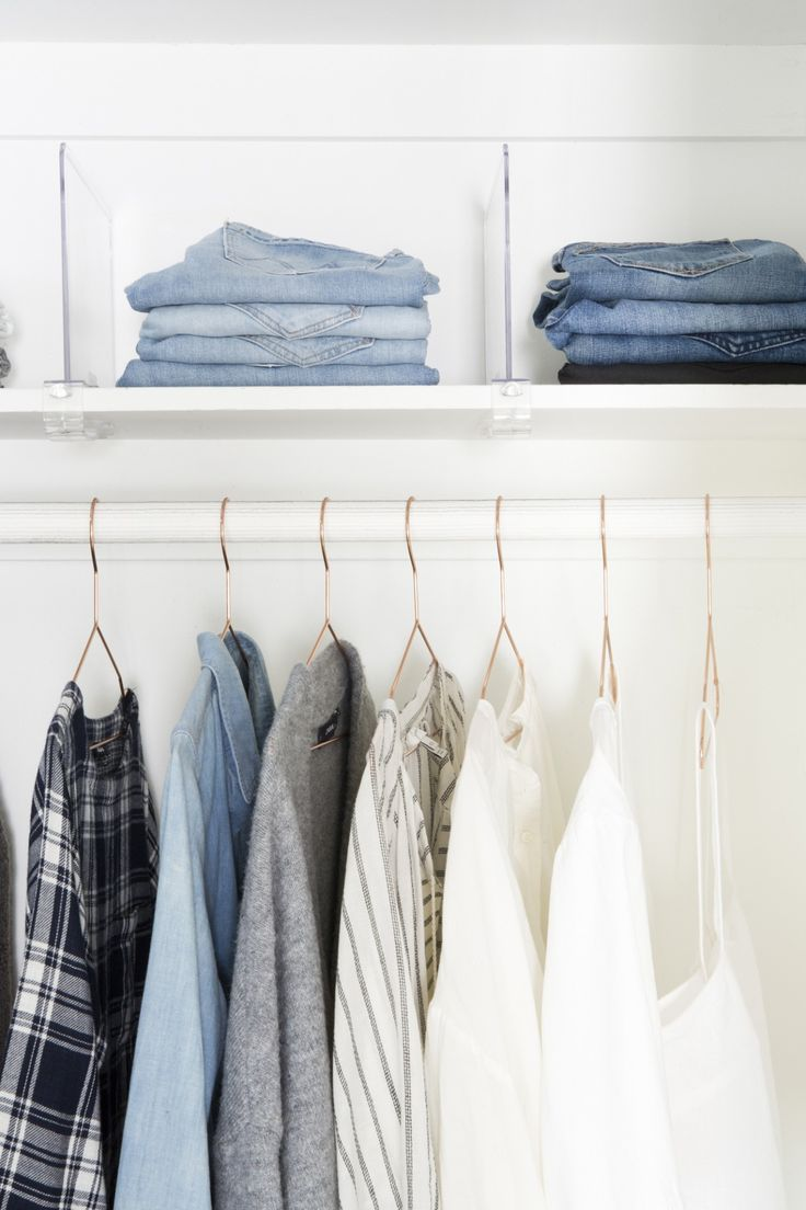 General Closet Organization Tips And Ideas, Which Apply Whether Youu0027ve Got  A Big, Roomy Walk In Or A Makeshift Corner In A Studio Apartment.