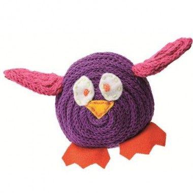 FREE French Owl - Knitting Pattern