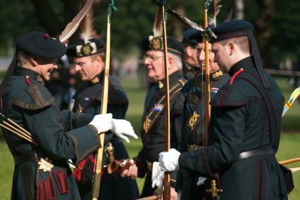 Royal Company of Archers. One of the most prestigious groups in UK. Impossible to get into unless you inherit the honor.