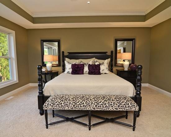 Two tone tray br ceilings pinterest trey ceiling Master bedroom ceiling colors