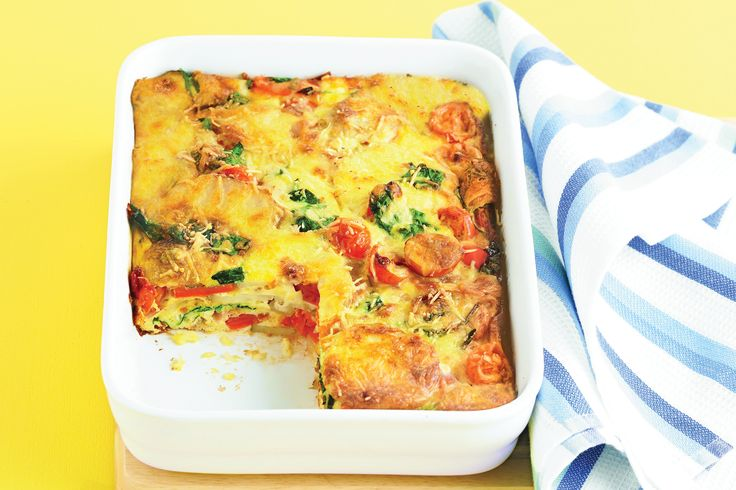 Oven Baked Frittata - great for using up our Chickens' eggs