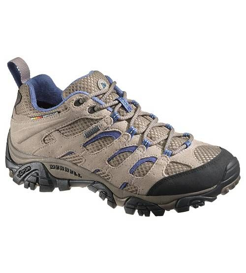 Merrell Women's Moab Gore-Tex A breath of fresh air never looked so good or performed so well. Get the versatility your various exploits demand without losing your cool in this collection, which features an integrated mesh upper for ventilation. Hot weather has truly met its match. • Waterproof Dura leather and mesh upper  • Bellows tongue keeps debris out  • GORE-TEX® Extended Comfort Footwear lining keeps feet dry and comfortable  • Breathable mesh lining ...
