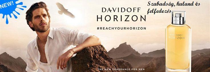 Davidoff Adventure férfi parfüm  http://www.parfumdivat.hu/parfumdivathazak/davidoff-horizon-ferfi-parfum.html Ég és a föld között  Horizon szabadság, kaland és felfedezés.  A kalandban rejlő szabadságot, a felderítés izgalmát, a lehetőségek kihasználását érzékelteti a DAVIDOFF Horizon időtálló, különleges illata.  Melyet Olivier Pescheux és Jacques Huclier parfümőrök terveztek, nemes, gazdag és mély kreációt alkotva.  A kompozíció fás, fűszeres és aromás illatok egyvelege.