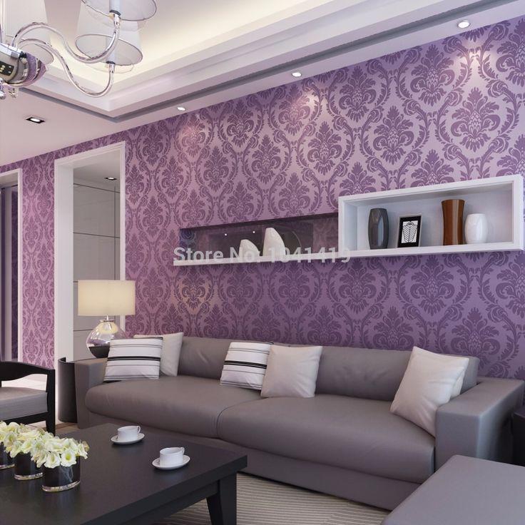 Европейский классический современная роскошь блеск обоями дамаск тканые обоев для гостиной спальня телевизор фоне золотой купить на AliExpress