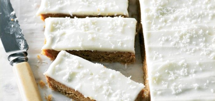 This delicious slice makes good use of the crunchy desiccated coconut siting in your pantry and is so easy to create.
