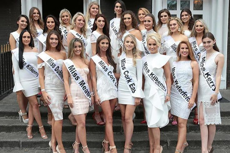 Miss Ireland 2017 Finalists Contestants Candidates