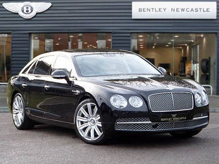 Used 2015 (15 reg) Black Bentley Flying Spur 6.0 W12 4dr Auto for sale on RAC Cars