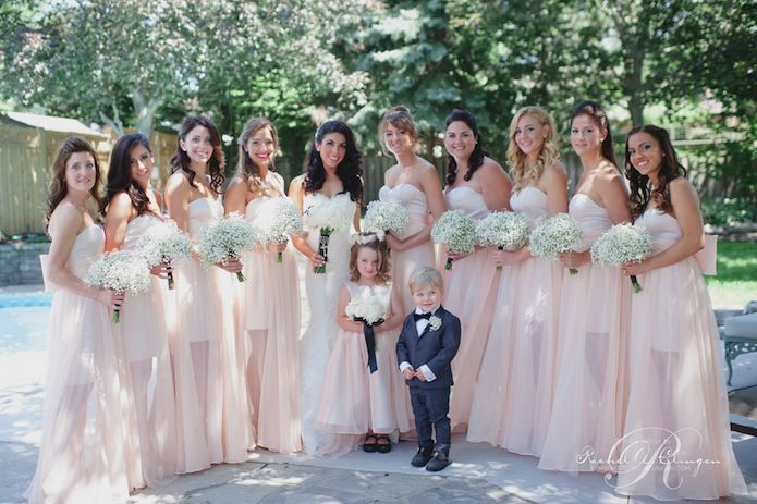 Cheap Wedding Gowns Toronto: 13 Best Babys Breath Weddings Images On Pinterest