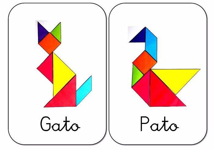 die besten 25 tangram figuras geometricas ideen auf