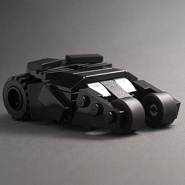 Probably The Coolest & Smallest Batman LEGO Tumbler Replica Ever #lego