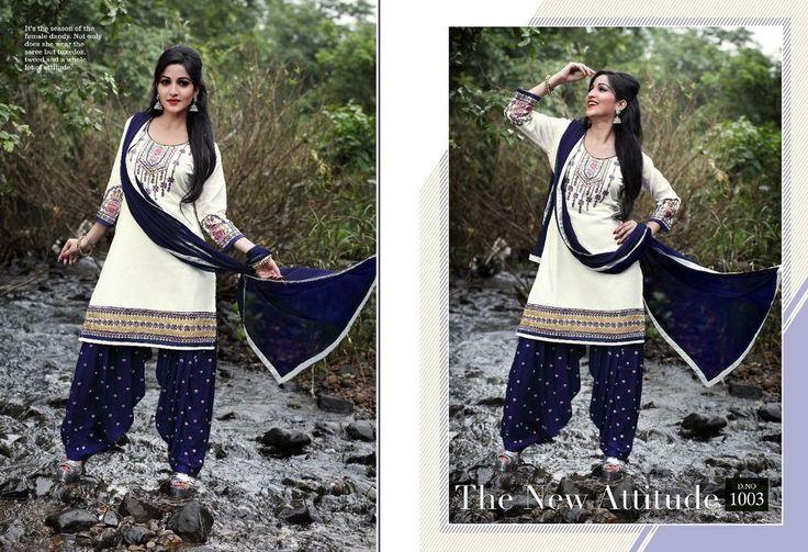 Indian Pakistani Designer Panjabi Patiala Salwar Kameez Dress Ni PJKD 03. #FashionBazar01 #PartyWear #PARTYWEARWEDDINGFESTIVAL
