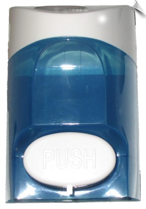 Easy refillable, Push Button Soap Dispenser, used in Bathrooms, Kitchens, Hotels, Hospitals, Homes and all Wash stations