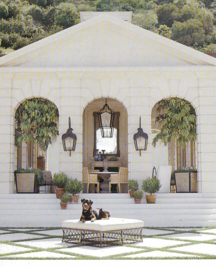 : Richard Hallberg, Outdoor Living, Living Rooms Design, Guest House, Pools Houses, Barbara Wiseley, Outdoor Spaces, Design Home, Houses Design