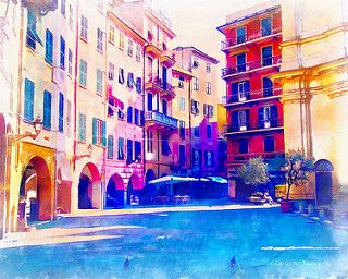 PLAZA IN SANTA MARGHERITA LIGURE BY CHARLES W. BAILEY, JR. Dynamic Auto Painter is a sophisticated set of digital brushes and controls allowing creation of paintings based on reference photos. With skill these digital paintings and those of traditional media are indistinguishable. Now scroll through Pinterest pins of high quality Dynamic Auto Painter artwork and see if you are not impressed with digital paintings. SEE MORE DIGITAL PAINTING AS ART NOW…