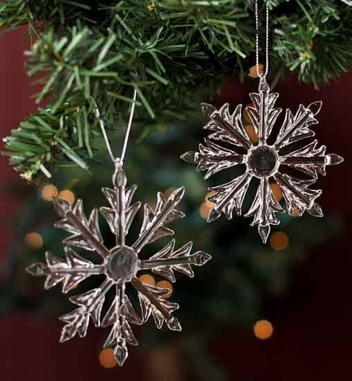 12 Snowflake Ornaments 4 Snowflake Decoration by SparkleSoiree, $19.99