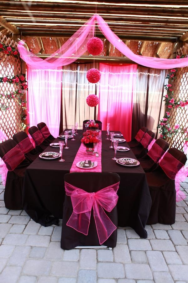 115 best pink and black party images on Pinterest Black party