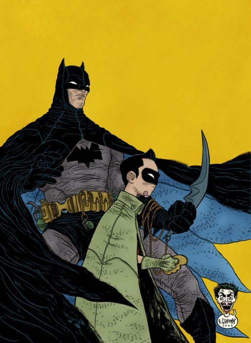 Batman & Robin por Rafael Grampá