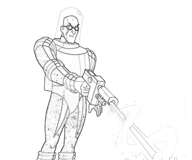 mr freeze coloring pages Google Search Batman ART Frozen coloring pages Frozen coloring