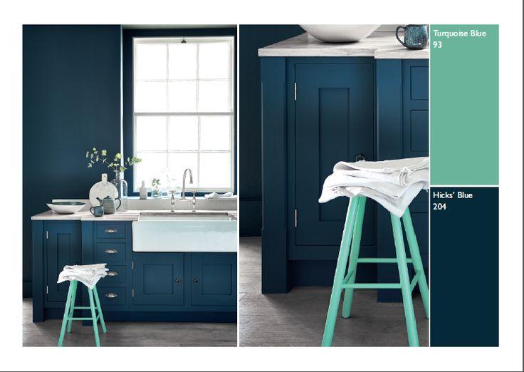 110 best Idées couleurs images on Pinterest Home interior design - peinture chambre gris et bleu