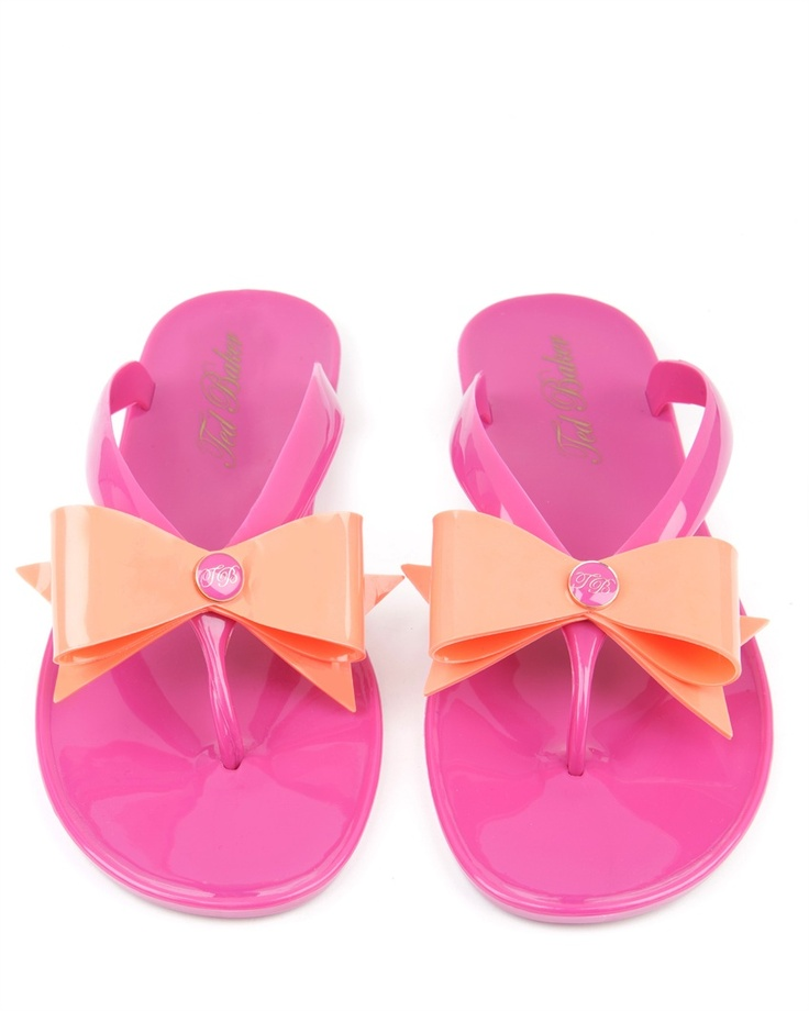 Ted Baker- TIED - Bow detail flip flop now £35
