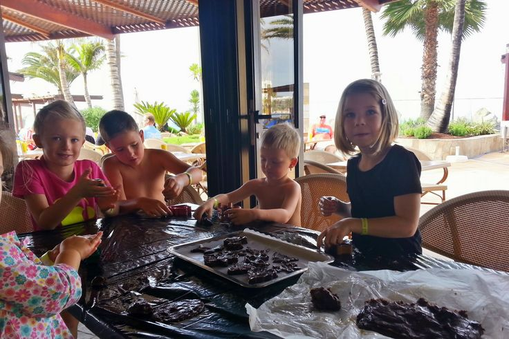 'Im Kinderclub' aus dem Reiseblog 'Über Weihnachten auf den Kanaren: Urlaub im Dorado Beach auf Gran Canaria'