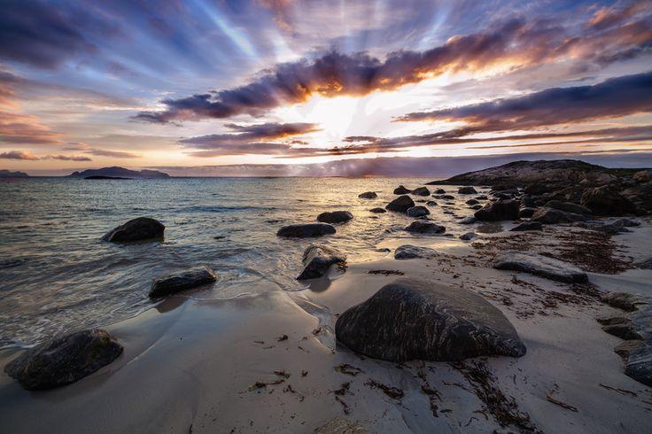 Sunset in Flø, Norway. by Steffen Voldsund on 500px