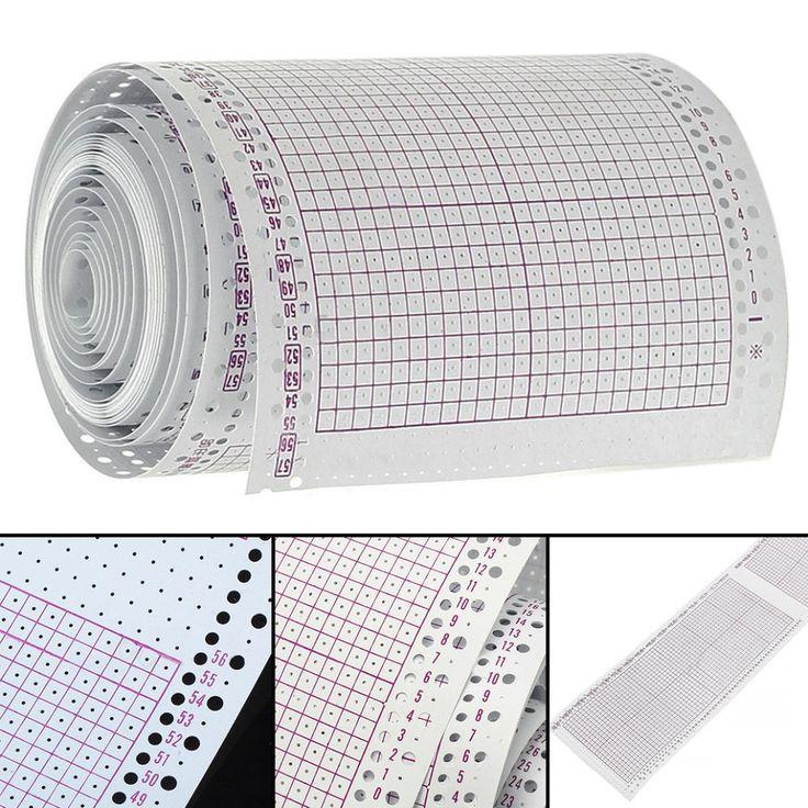 15 Blatt 5m Stiche leere Lochkarten 24 für Brother Strickmaschinen KH860 | Bastel- & Künstlerbedarf, Handarbeit, Häkeln & Stricken | eBay!