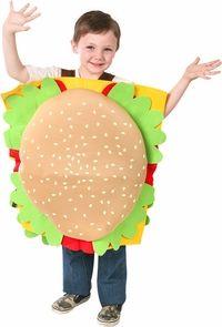 childs hamburger costume #ChildrensCostume #HalloweenCostume #Halloween2014