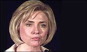 BBC News | Clinton Scandal | Hillary Clinton STANDS BY HER MAN!!!     An OBVIOUS LIE, Hillary appeared on NATIONAL TV to defend BILL CLINTON.  It later was revealed that Bill was a SERIAL ABUSER OF WOMEN, and that HILLARY had covered up his affairs and 'problems' for YEARS.  Is HILLARY a person who defends WOMEN????  I would say, NO!!!!  Did DEMS condemn her actions????  No...in fact...the made her SECRETARY OF STATE.    Just a WEE BIT OF HYPOCRISY?????  NO, a LOT.