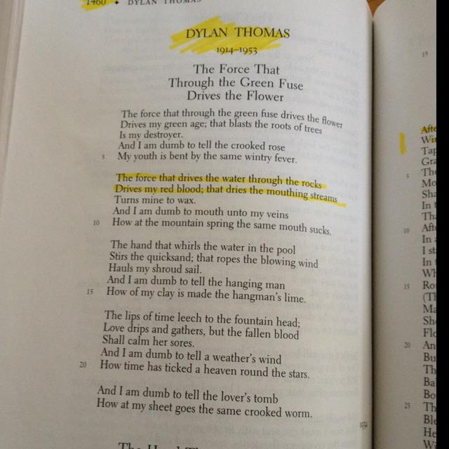 literary analysis of the poem and death shall have no dominion Presents literary criticism which discusses the sources of the image of ineffectual wounding of a unicorn in the poem and death shall have no dominion by dylan thomas.