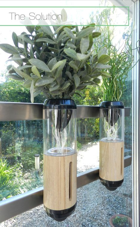 """""""Auxano,"""" Philip Houiellebecq's concept for a more practical home hydroponic system."""