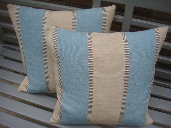 Stripe  cushion cover cotton designer fabric, malabar �11