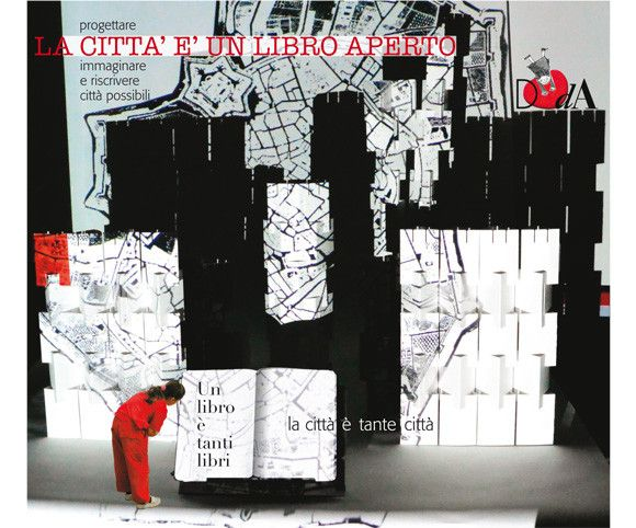 La città è un libro aperto. Progettare , immaginare riscrivere città possibili.  Book City 2015 12-25 ottobre Mudec-Museo delle culture- Via Tortona 56. Progetto e realizzazione a cura di  DOd'A design.   Main partner STAEDTLER  http://www.progettododa.it/Progetti/la-citta-e-un-libro-aperto-mudec-milano-2015/  Photo by Patrizia Treves