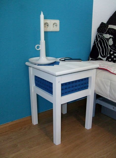 From Stool To Bedside Locker | IKEA Hackers Clever Ideas And Hacks For Your  IKEA