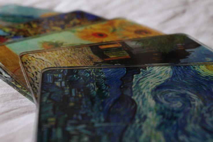 Portavasos acrílico - Pintura Vincent Van Gohg