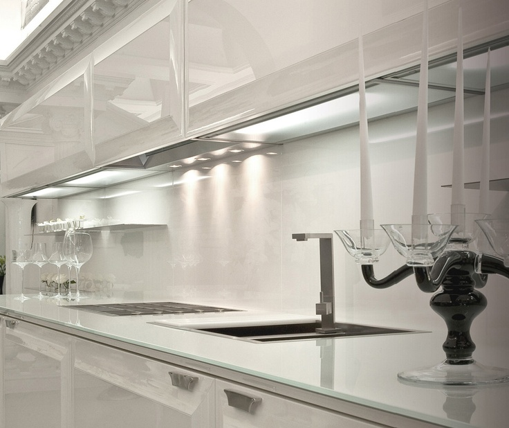Lighting in kitchen.Scic Diamond