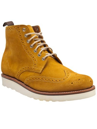 GRENSON Lewis Wingtip Oxford Boot