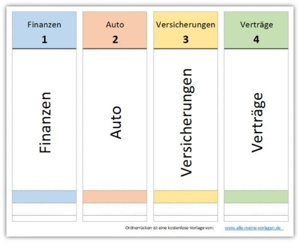 Vorlage Zur Beschriftung Von Ordnerrucken Alle Meine Vorlagen De Ordner Etiketten Vorlage Ordner Beschriften Ordnerrucken Vorlage