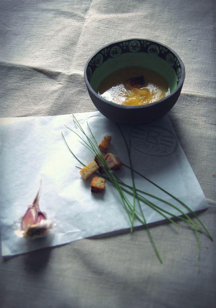 "Miska ceramiczna ""Owsianka"". Pottery bowl ""Porridge"". by Benusha - ceramika"