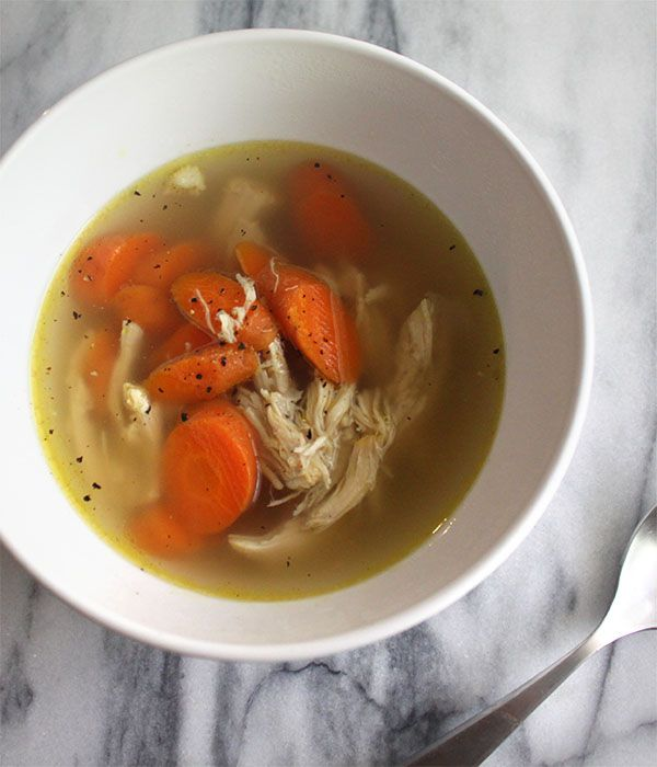 Slow Cooker Indian Chicken Soup The herbs used to flavor the broth in this slow cooked chicken soup are all anti-inflammatory, Indian spices. This soup is paleo friendly and dairy free.