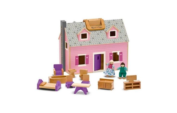 Fold Go Dollhouse Wood Furniture Current 3yrs Amp Up Boys Amp Girls Melissa Doug Toy | eBay
